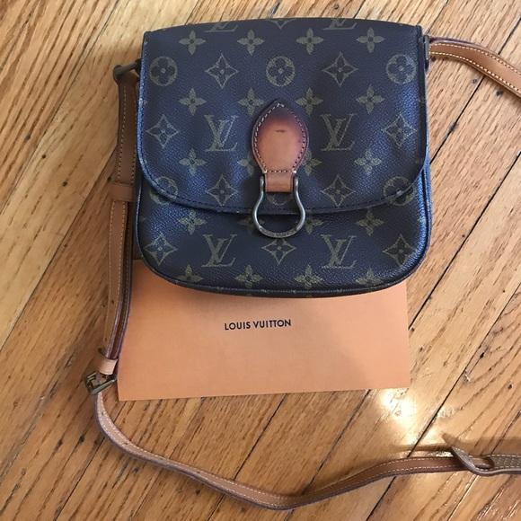 905f13227ca7 Louis Vuitton Handbags - Authentic Louis Vuitton Saint Cloud MM Monogram